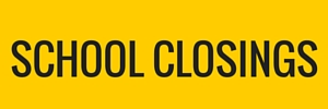 SCHOOL CLOSINGS button